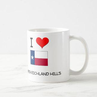 I Love North Richland Hills Texas Classic White Coffee Mug