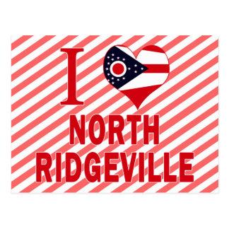 I love North Ridgeville, Ohio Postcard