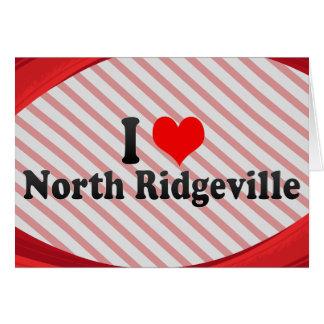 I Love North Ridgeville, United States Card