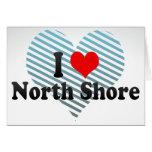 I Love North Shore, New Zealand Greeting Card