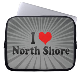 I Love North Shore, New Zealand Laptop Sleeve