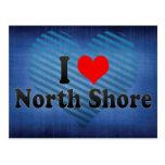 I Love North Shore, New Zealand Postcard