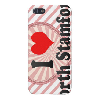 I Love North Stamford, United States iPhone 5 Cases