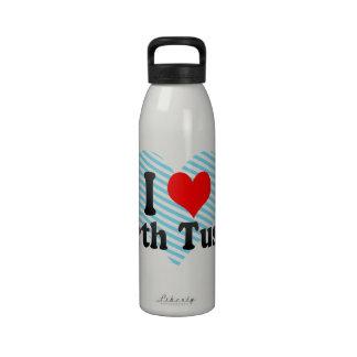 I Love North Tustin, United States Drinking Bottle