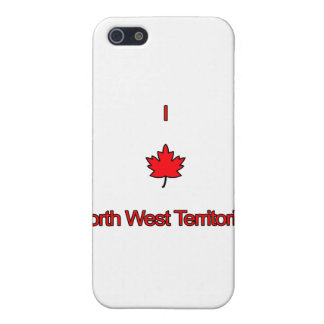 I Love North West Territories Cover For iPhone SE/5/5s