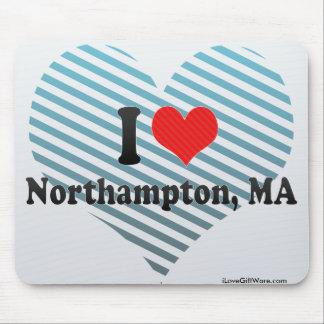I Love Northampton, MA Mouse Pad