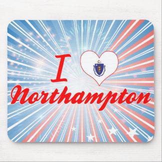 I Love Northampton, Massachusetts Mouse Pad