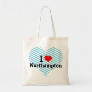 I Love Northampton, United Kingdom Tote Bag