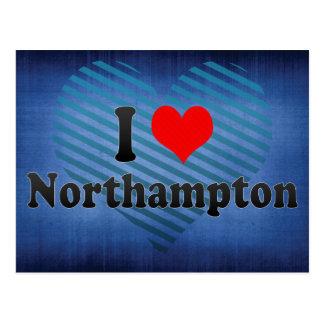 I Love Northampton, United Kingdom Postcard
