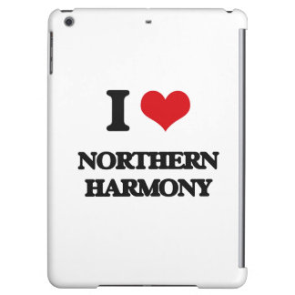 I Love NORTHERN HARMONY iPad Air Cover