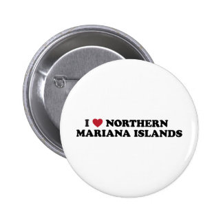 I Love Northern Mariana Islands Button
