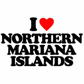 I LOVE NORTHERN MARIANA ISLANDS CUT OUTS