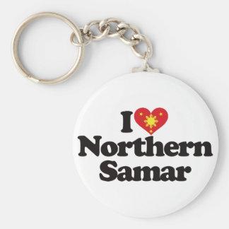 I Love Northern Samar Basic Round Button Keychain