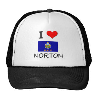 I Love NORTON Kansas Trucker Hat
