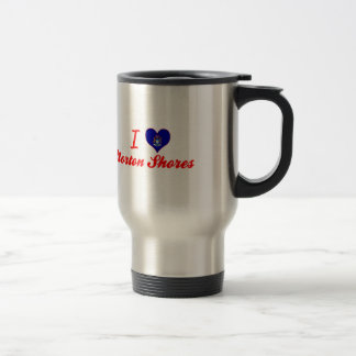 I Love Norton Shores, Michigan 15 Oz Stainless Steel Travel Mug