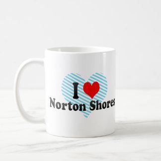I Love Norton Shores, United States Classic White Coffee Mug