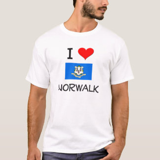 I Love Norwalk Connecticut T-Shirt