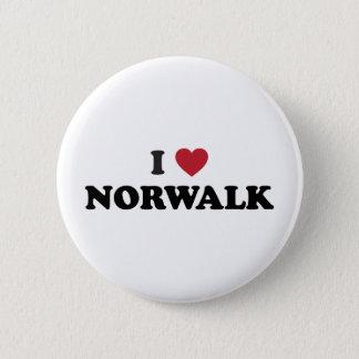 I Love Norwalkd California Button