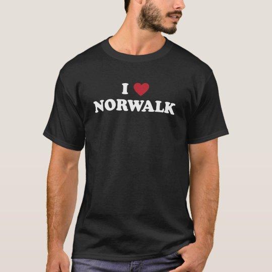 I Love Norwalkd California T-Shirt