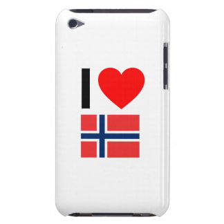 i love norway iPod touch case