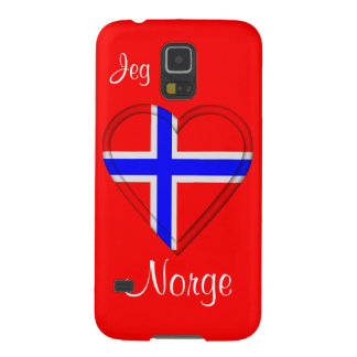 I love Norway Jeg elsker Norge Galaxy S5 Cover