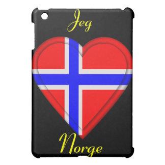 I love Norway - Jeg elsker Norge iPad Mini Case