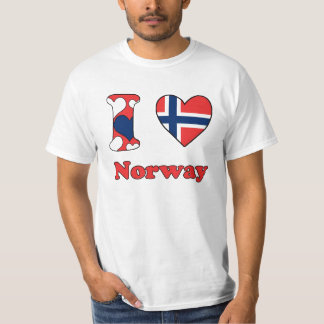 I love Norway Tee Shirt