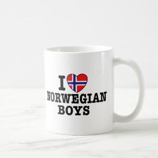 I Love Norwegian Boys Mugs