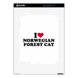 I love Norwegian Forest cat Decals For The iPad 2