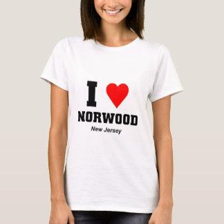 I love Norwood New Jersey T-Shirt