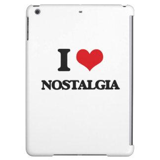 I Love Nostalgia iPad Air Cover