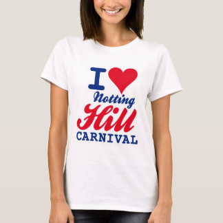 I LOVE NOTTING HILL CARNIVAL T-Shirt