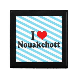 I Love Nouakchott Mauritania Keepsake Boxes