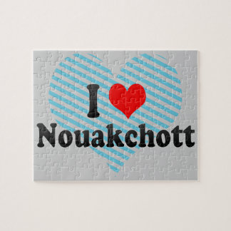 I Love Nouakchott Mauritania Puzzles