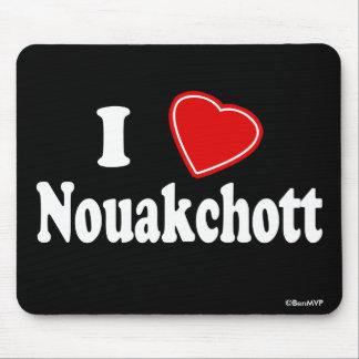 I Love Nouakchott Mouse Pad