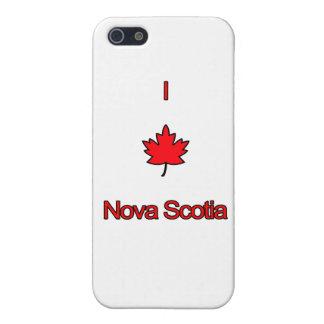 I Love Nova Scotia Cover For iPhone SE/5/5s