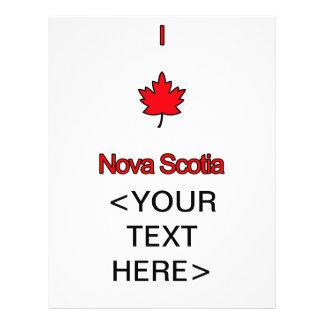 I Love Nova Scotia Flyer
