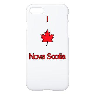 I Love Nova Scotia iPhone 8/7 Case