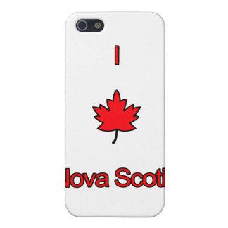 I Love Nova Scotia iPhone SE/5/5s Cover