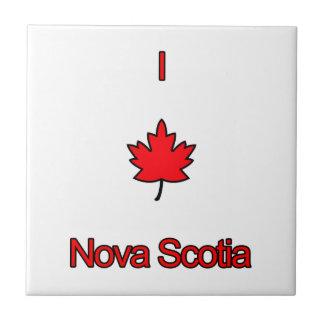 I Love Nova Scotia Tile