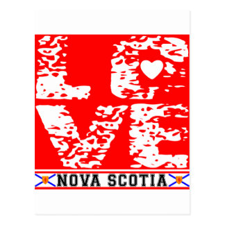 I Love Nove Scotia Postcard