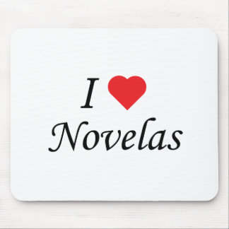 I Love Novelas Mouse Pad