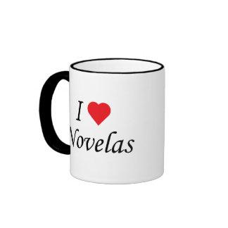 I Love Novelas Ringer Coffee Mug