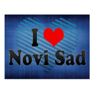 I Love Novi Sad, Serbia Postcard