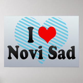 I Love Novi Sad, Serbia Posters