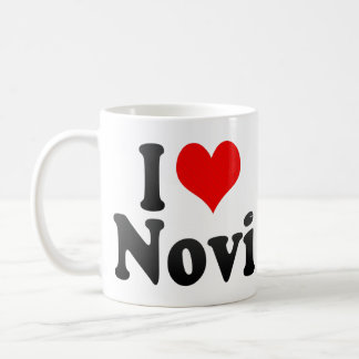 I Love Novi, United States Classic White Coffee Mug