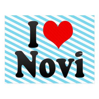 I Love Novi, United States Postcard