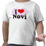 I Love Novi, United States T Shirt
