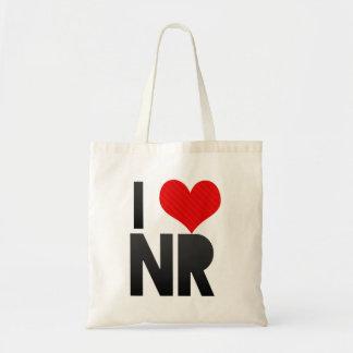 I Love NR Canvas Bag