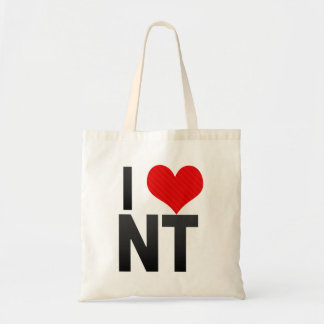 I Love NT Canvas Bags